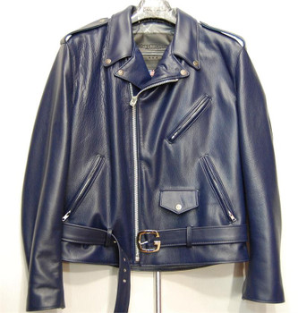 G Gator Blue Motorcycle Jacket