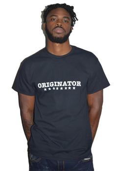 Black Originator Tee Shirt