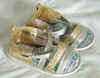 Rocawear Multi Gold Girls Sandals