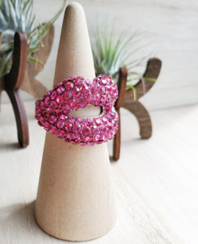 Pink Lips Ring