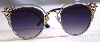 Gray Framed Sunglasses