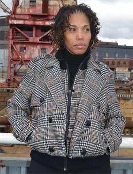 Sean John Ladies Plaid Jacket