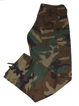 Fatigue Army Print Cargo Pants