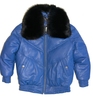 Blue V Bomber for kids