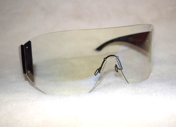 Oversized Clear Goggle Shade