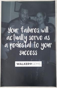 Walker Gems Success Poster