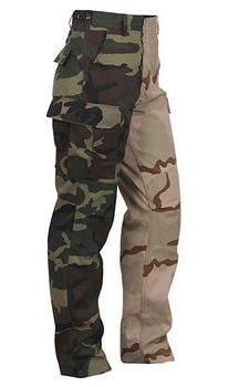 Rotcho Two Tone BDU Pants