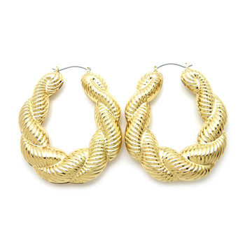 Twisted Rope Gold Plated Doorknockers