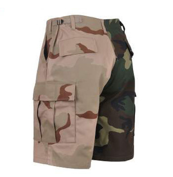 Two Tone Camo BDU Short Woodland/Tri-Color