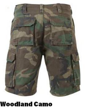 Rothco Vintage Paratrooper Shorts Woodland