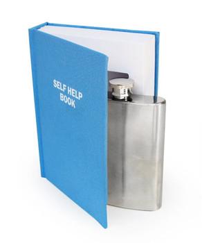 Self Help Hidden Flask Book