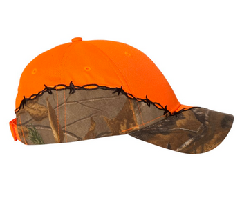 Orange Forest Baseball Cap