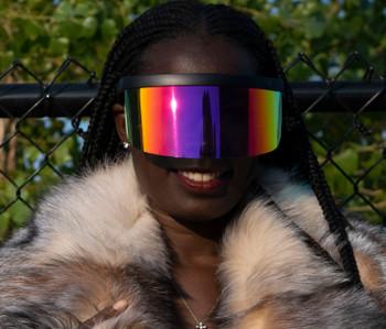 V by Vye Eyewear Iridescent Face Shield