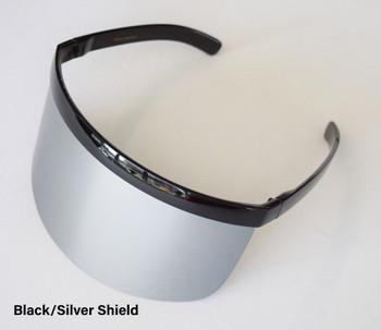 Black/Silver Shield