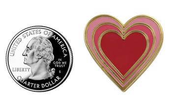 Heart Emoji Pin