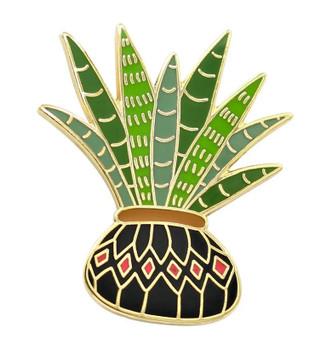 Potted Aloa Vera Plant Pin
