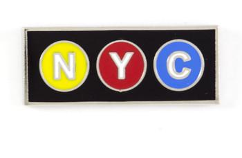 NYC Subway Pin