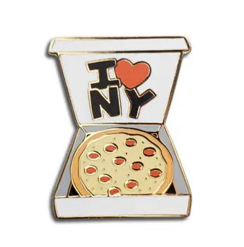 I Love NY Pizza Pin