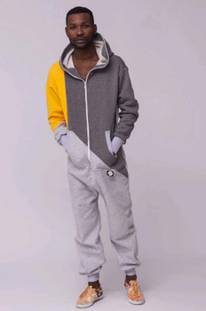 Tricolor Onesie Sunny With Yellow Sleeve For Men