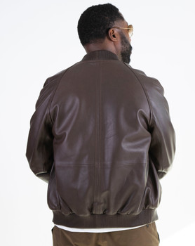 Brown Butter Soft Leather Jacket