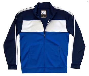 Royal Blue Tricot Track Jacket