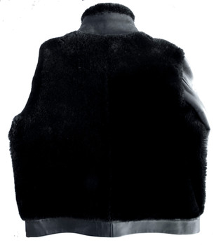 Black Out Sheepskin Jacket