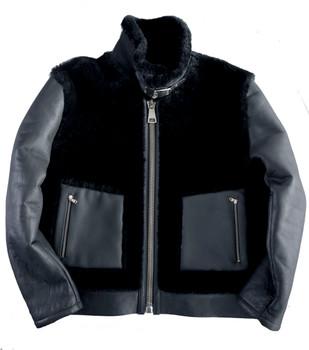 Black Out Sheepskin Jacket