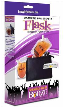 Cosmetics Bag Flask Smuggle Your Booze