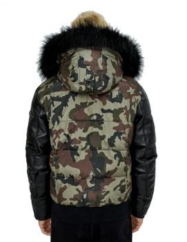 Noize- P Camo Bomber Jacket