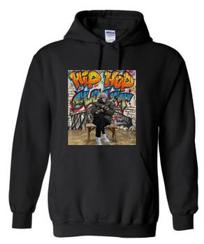 Hip Hop Closet Graffiti Bernie Mood Hoodie