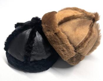 Sheepskin Beanie Cap