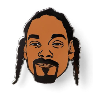 Snoop Dogg Lapel Pin