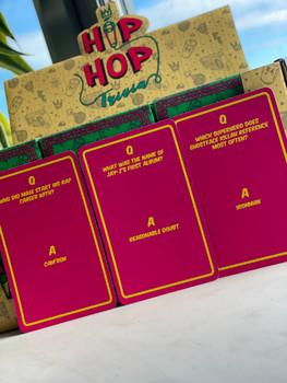 Hip Hop Trivia Cards