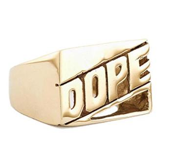 Brass Dope Ring