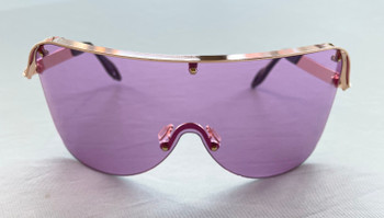 Oversized Purple Colored Sunglasses