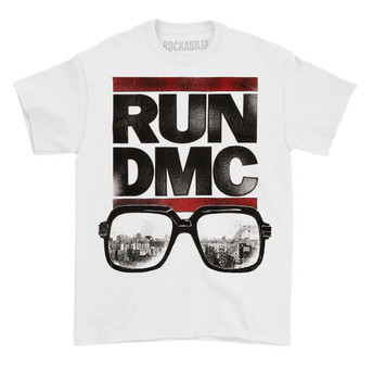 RUN DMC Glasses Tee Shirt