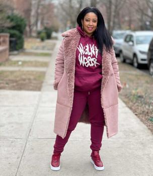 Merlot Walker Wear Sweatsuit