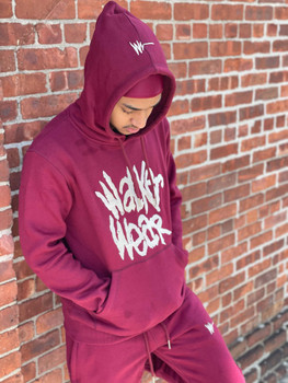 Merlot Vintage Unisex Walker Wear Sweatsuit