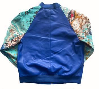 Blue Ocean Butter Soft Baseball Jacket