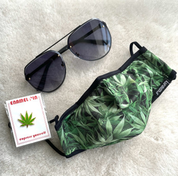 420 Bundle Sunglasses and Mask edition