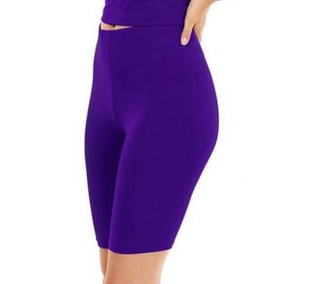 Purple Biker Shorts