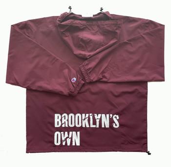 Burgundy Brooklyns own Windbreaker