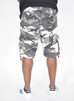 Gray Urban Rothco Infantry Utility Shorts