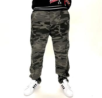 Rothco Black Camo BDU Pants