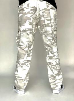 Rothco White Camo Cargo Pocket Pants
