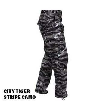City Tiger Camo BDU Cargo Pocket ROTHCO Pants