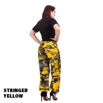 Stringer Yellow Rothco Ladies Colored Camo Pants