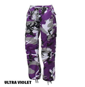 Ultra Violet Rothco Ladies Colored Camo Pants