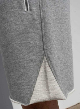 Gray Sweat Shorts for Men