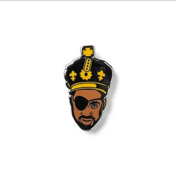 The Ruler Enamel Pin